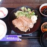 Tenkuunotsuki - とっても歯ごたえのある生姜焼き