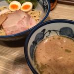 楽  - 味玉つけ麺 普通盛