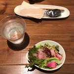 札幌スープカレー専門店 カンクン - ミニサラダ