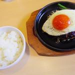 キッチン ルミエール - 【ランチ】 こだわり玉子 蘭王のエッグハンバーグ \980