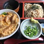 手打そば その杵 - 料理写真:カツ丼セット=900円