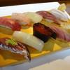 いしはら寿司 - 料理写真:おすすめにぎり 佐渡で取れた魚10カン