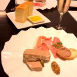 トラットリア ゴデレッチョ エビス - お酒とぴったりの前菜