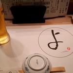 71085003 - テーブルセッティング&生Beer(プレモル)