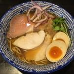 麺 昌まさ - 鶏節魚介(864円)+サービス味玉