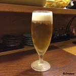 季節料理 薗 - 先ずは生ビール