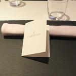 リストランテ カノフィーロ - 2017年8月5日のテーブルセット