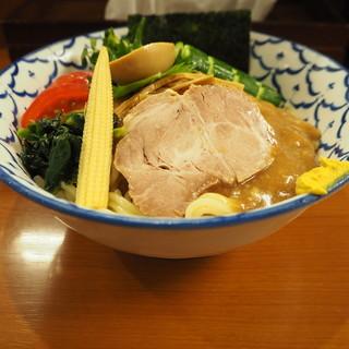麺恋処 いそじ - 料理写真:冷やし中華横顔