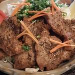 oshokujidokoroshouya - 那須豚の醤油漬け黒胡椒焼き