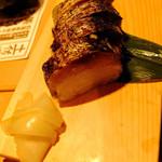土佐清水ワールド - 藁焼き焼さば寿司ハーフ
