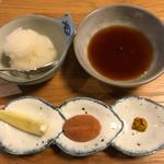 天松 - 天ぷらをつけるやつ