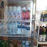 神仙沼自然休養林休憩所 - 各種ペットボトル売り場