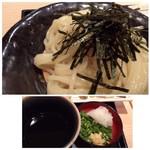 武膳 - ◆麺はツヤがあり滑らか食感で美味しい、出汁を感じるツユも好み。