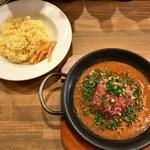 NIVAL - 料理写真:「丸ごとトマトの和風カレー」880円
