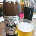 韓国家庭料理 漢陽 - ビール