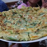 韓国家庭料理 漢陽 - 海鮮チヂミ