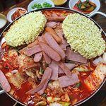 韓国家庭料理 漢陽 - ブデチゲ