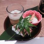 徳寿 - 前菜