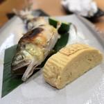 片町 弥ひろ - 鮎の塩焼き