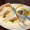 Sankafe - 料理写真:サンドモーニング430円(税込)