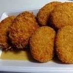さとう精肉店 - 料理写真:メンチとコロッケ♪