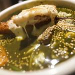 アジアンスープカリー べす - ラムグリーンスープ