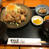 そろばん亭 - 料理写真:丹波地鶏からあげ定食?