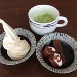 豆乃畑 - デザート二回目