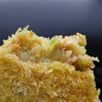 和気精肉店 - 地場の野菜がたっぷり。