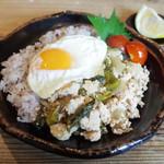 ネマルカフェ - 和風ガパオご飯(950円)