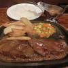 アルカサール - 料理写真:炭焼きハンバーグ150g980円
