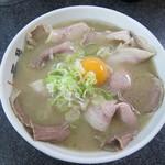 いちげん - 生卵入りラーメン:650円