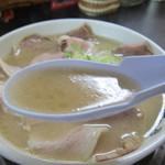 いちげん - 白濁豚骨スープ