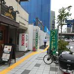 71099910 - ウッディな外観。お店は蔵前橋通り沿いにあります。