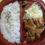 オリジン弁当 - 唐揚げ弁当 ¥390