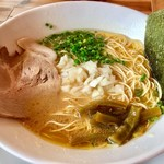 ラーメン サンゲン屋 - 鶏豚出汁ラーメン(大盛り)¥730