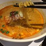 担担麺 胡 - チーズ担担麺(細麺)