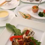 ア・マ・ファソン - 料理写真:ランチコース(例)