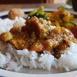 ジジコ - ネパールチキンカレー(辛口)オンザライス