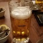 弥平 - 生ビールはサッポロ