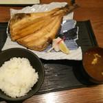 阿久根 魚鈎 - 特大ホッケ定食((税別980円))