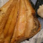 阿久根 魚鈎 - 特大ホッケのアップ