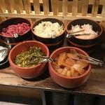 阿久根 魚鈎 - セルフコーナーのお漬け物