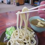 手打ちうどん ムサシ - これぞ吉田の麺です。