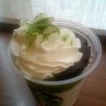 71109342 - チョコレート ケーキ トップ フラペチーノ® with 抹茶ショット:669円