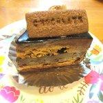 菓子工房 アンシャンテ - チョコレートケーキ!