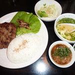 氷結冷麺 れん - 和風ハンバーグ