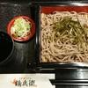 鶴兵衛 - 料理写真:ざる蕎麦。