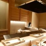 日本橋 蕎ノ字 - 店内の様子