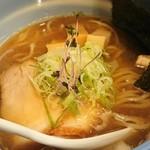 麺や 玄鳥 - 焼き煮干し